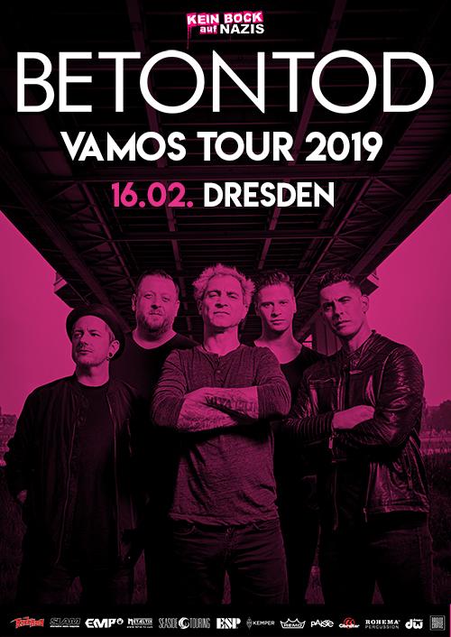 Betontod VAMOS Tour 2019 in Dresden