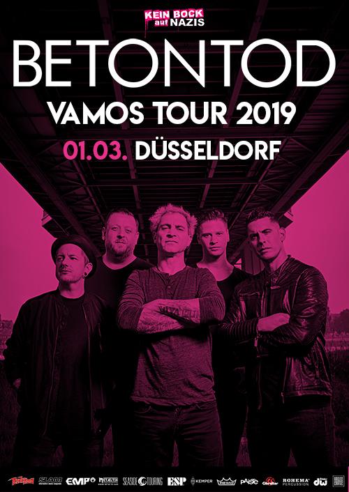 Betontod VAMOS Tour 2019 in Düsseldorf
