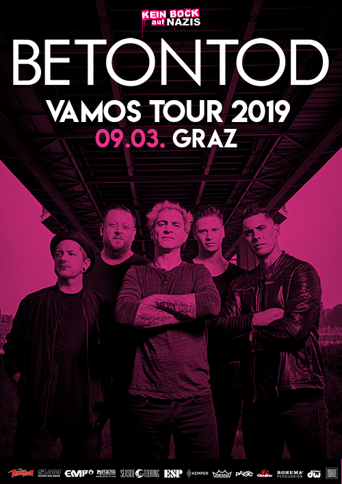 Betontod VAMOS Tour 2019 in Graz