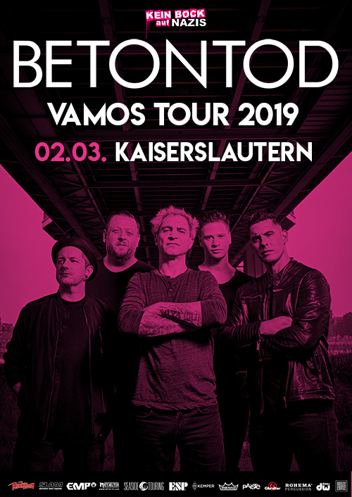 Betontod VAMOS Tour 2019 in Kaiserslautern