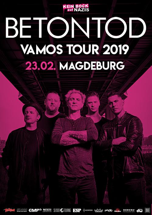 Betontod VAMOS Tour 2019 in Magdeburg