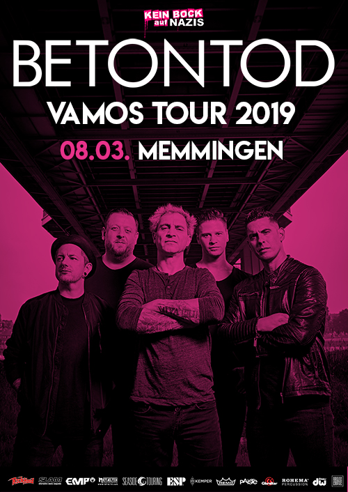 Betontod VAMOS Tour 2019 in Memmingen
