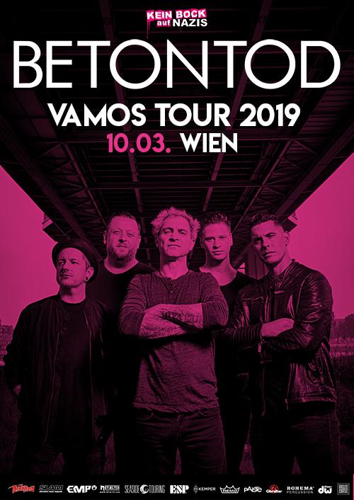 Betontod VAMOS Tour 2019 in Wien